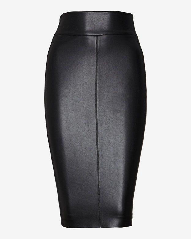 47c0131c56 Bailey 44 EXCLUSIVE Leather Like Pencil Skirt | Shop IntermixOnline.com
