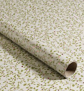 This is pretty too. 4m Ditsy Foil Holly Christmas Wrapping Paper - Marks & Spencer.