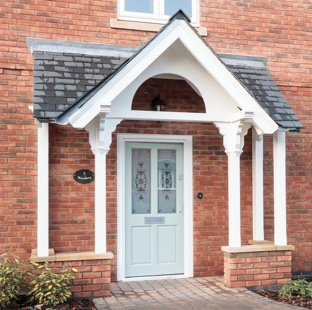 House With Porch, Porch Design, Facade House