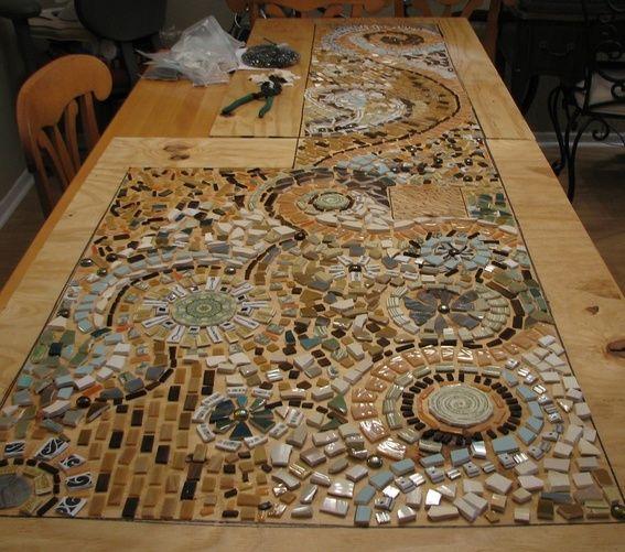 Ginger's Major Mosaic Kitchen Makeover