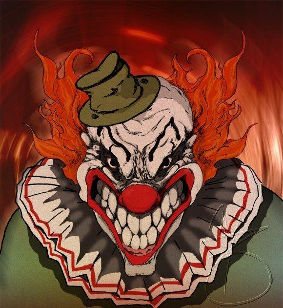 сразу картинка клоуна злобного гения нравится видеть