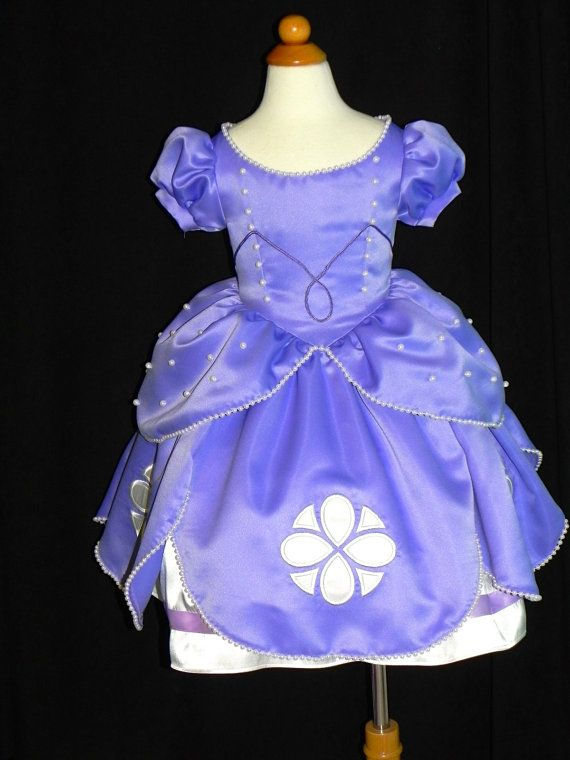 Sofia The First Ball gown. Toddler to Size 6. Custom made | Party ...
