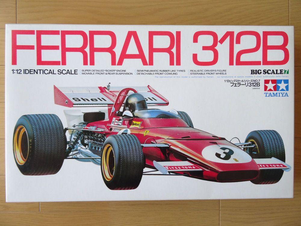 Tamiya 1 12 Ferrari 312b Scale Formula Model Kit Vintage Item 12007 Ebay