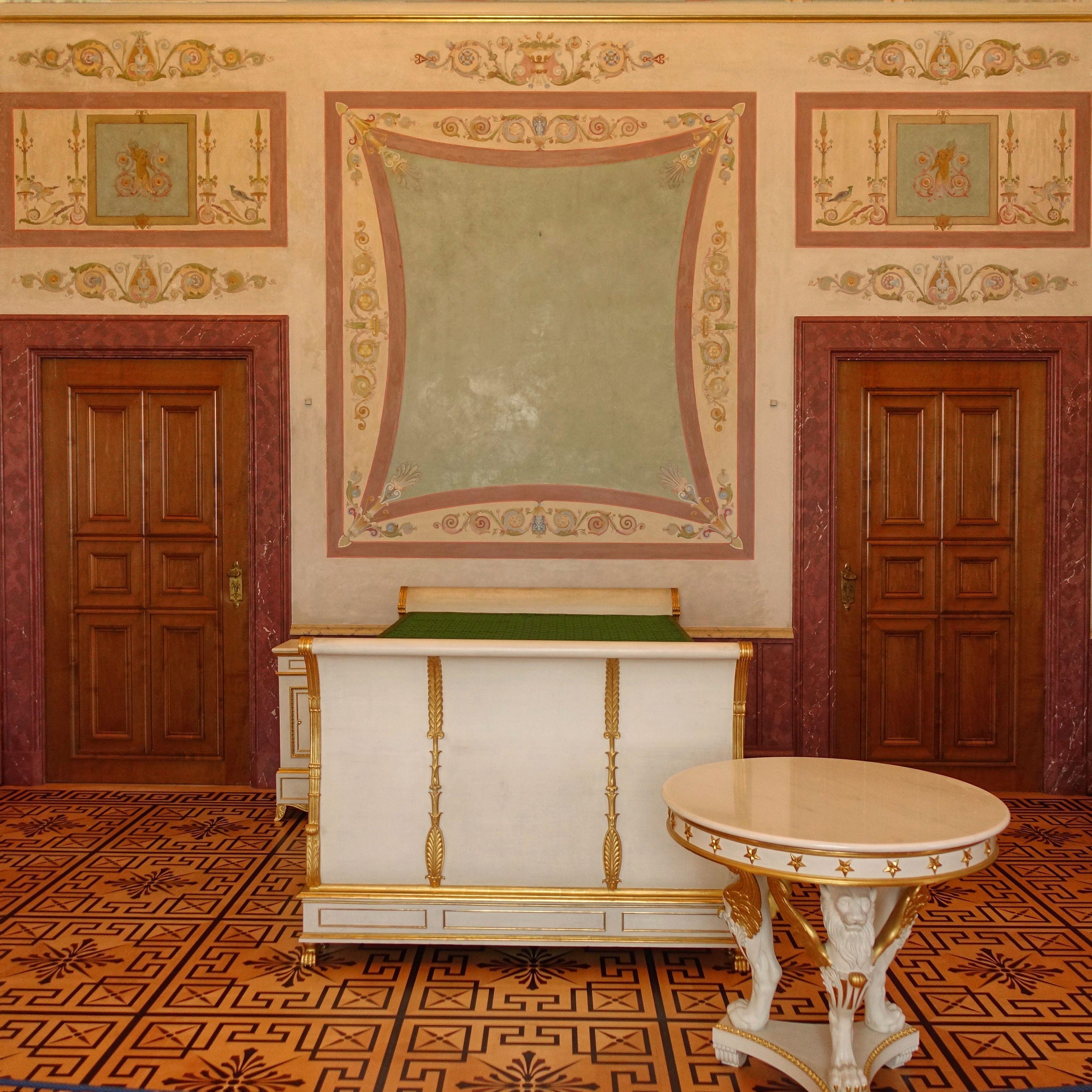 Munich Germany Munchen Deutschland Schlafzimmer Des Konigs Im Konigsbau In Der Munchner Residenz Munchen Deutschland Schloss Munchen Deutschland