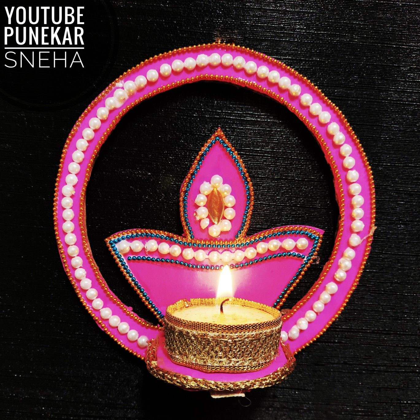 Pin Di Diwali Diya Decoration Ideas