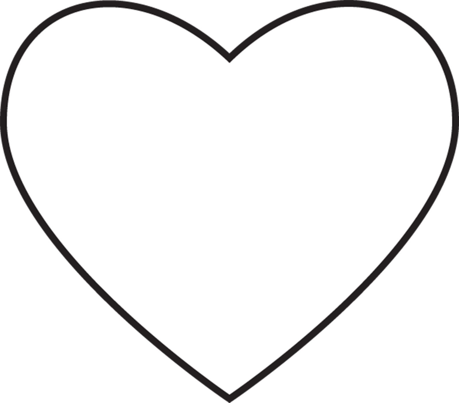 Heart Coloring Page Coloring Page Heart Coloring Pages