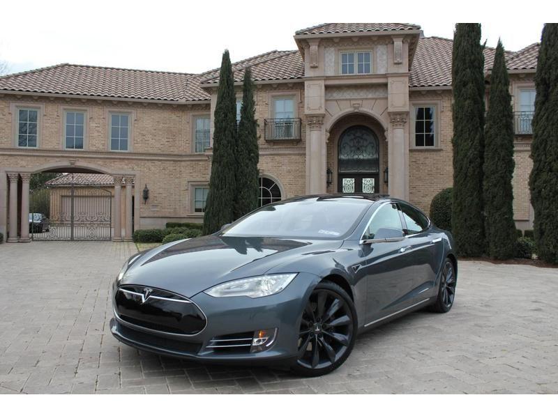 2012 Tesla Model S Sedan For Sale Tesla electric car