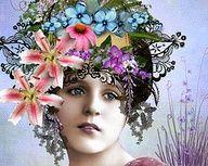 old flower power