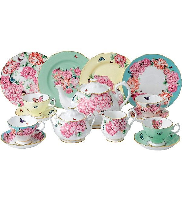 ROYAL ALBERT   Miranda Kerr Fine Bone China 15 Piece Tea Set | Selfridges.