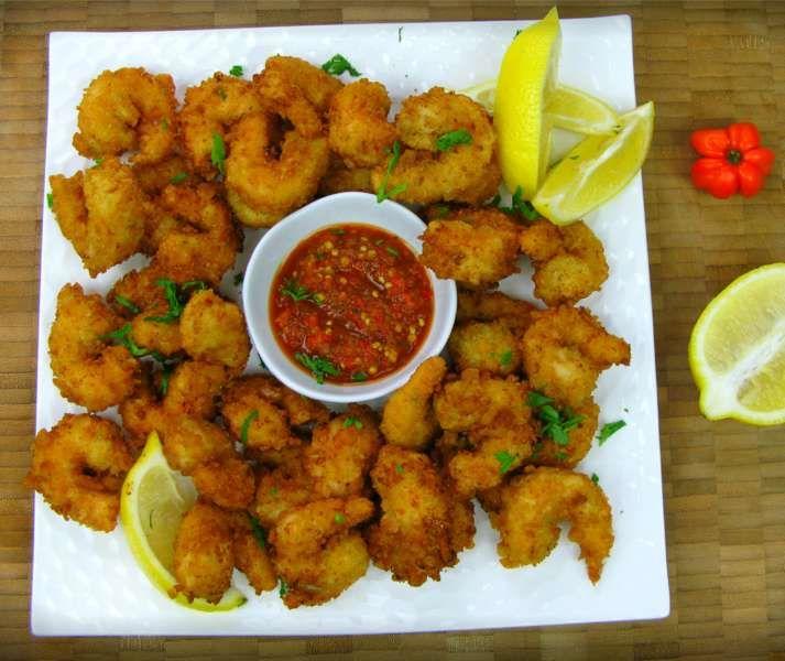Caribbean Style Popcorn Shrimp Recipe Caribbeanpot Com Popcorn Shrimp Recipe Popcorn Shrimp Carribean Food