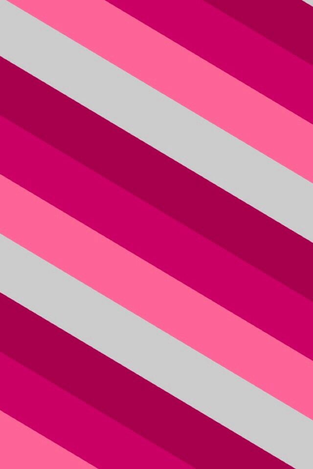 Shades Of Pinkwhite Slanted Stripes Background Pink