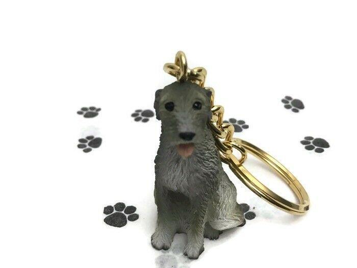 GREYHOUND BLUE TINY ONES DOG Figurine Statue Pet Gift Resin