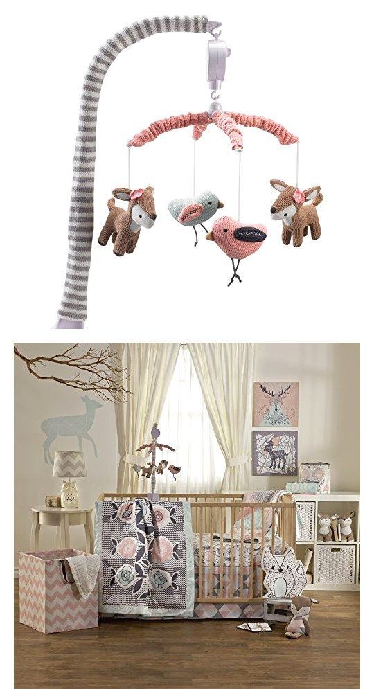 High Quality Lolli Living Sparrow Musical Mobile