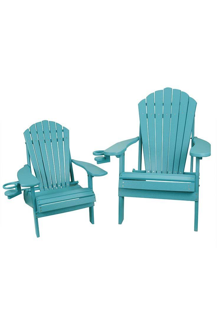 Size Folding Adirondack Chair