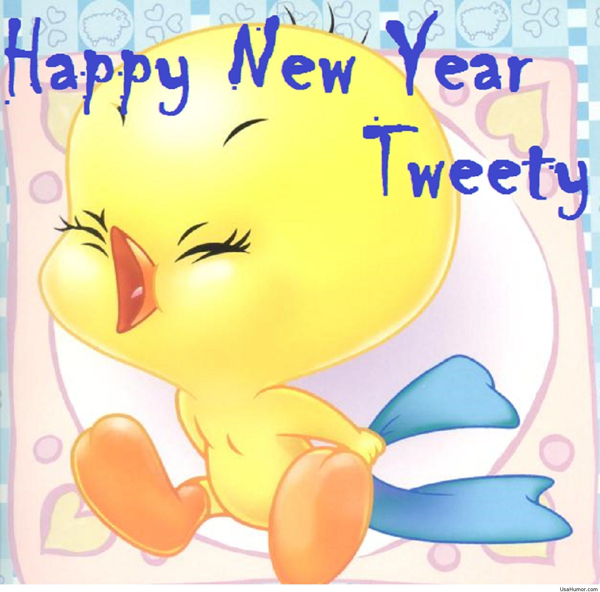 Crazy Happy New Year Quotes: Funny Tweety Image Happy New Year 2015