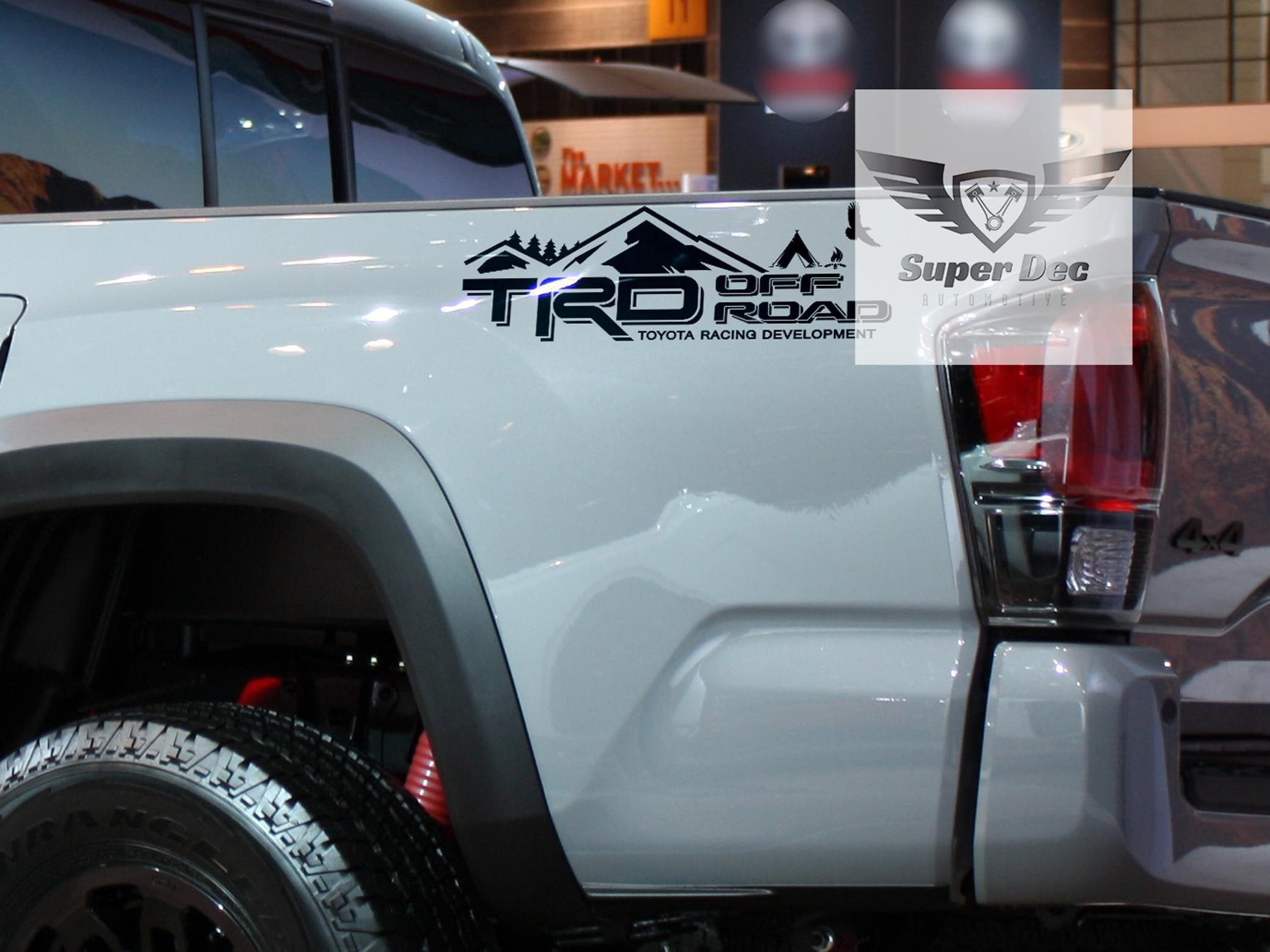 Camp Edition Trd Mountains Forest Off Road Pro Sport 4x4 Tacoma Tundra Fj Cruiser Sticker Decal Fj Cruiser New Sports Cars Trd [ jpg ]