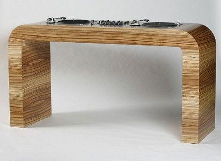 Hoerboard Table De Mixage Design Table Dj Meuble Dj Table De Mixage