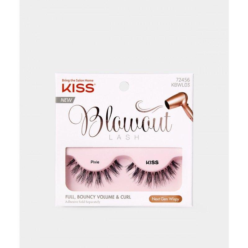 a9beb26bb71 KISS Blowout Lash - Pixie Kiss Eyelashes, Long Lashes, False Lashes,  Pompadour Style