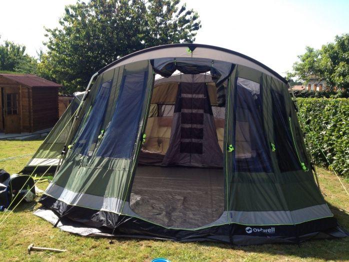 Tente 6 Places Outwell Montana Auvent Tapis De Sol Isolant 3 Chaises Table 2 Matelas 2 Personne Lit D App Tente 6 Places Matelas 2 Personnes Tentes