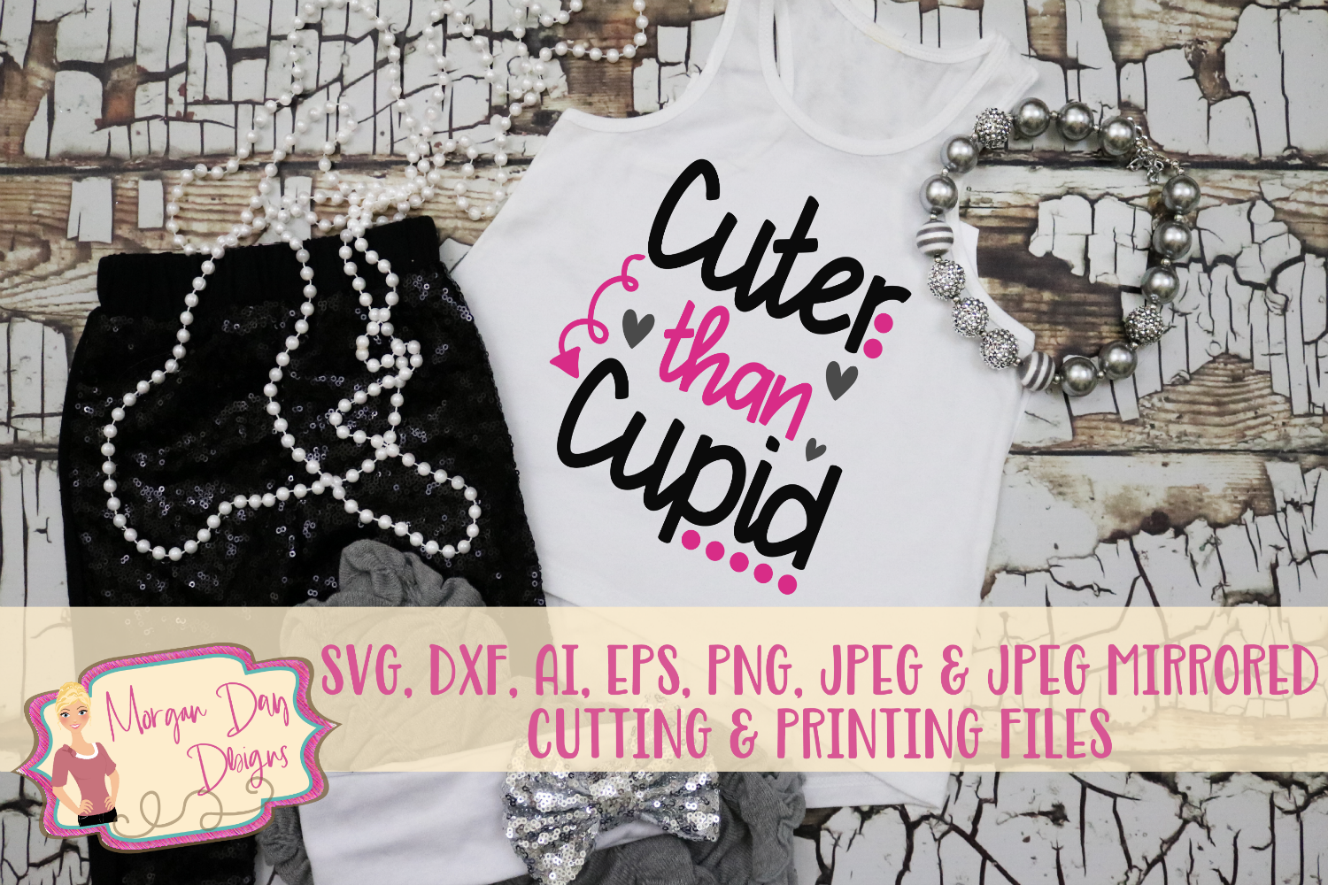 So Cute For Valentine S Day Shirt With My Cricut Cuter Than Cupid Svg Dxf Ai Eps Png Jpeg Affiliate Svg Cricut Silho Girls Valentines Valentine Cupid