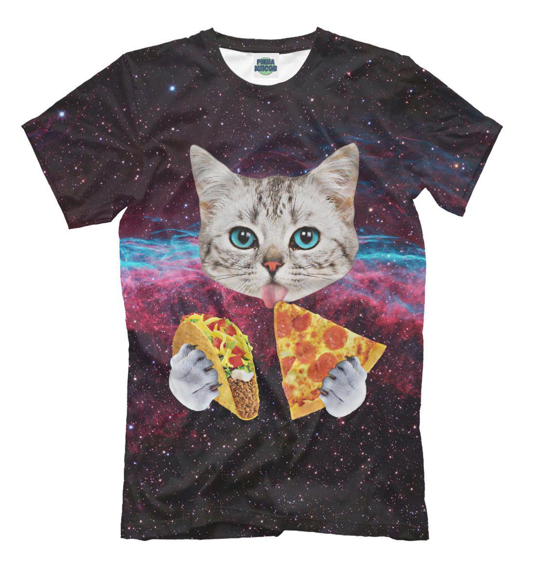 T Shirt Space Cat Cat Cats Cat Tshirt Cat Illustration Tacos Pizza By Rishamyasov On Etsy Cat Shirts Funny Cat Print Space Cat [ 1183 x 1100 Pixel ]
