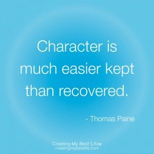 Quotes About Integrity And Character Integrity Quotes 3 Thomas