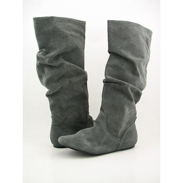 Capilla científico Oscuro  Steve Madden TIANNA Boots Slouch Shoes Gray Womens, $37.99 |  www.findbuy.co/brand/steve-madden #SteveMadden | Boots, Shoes, Women