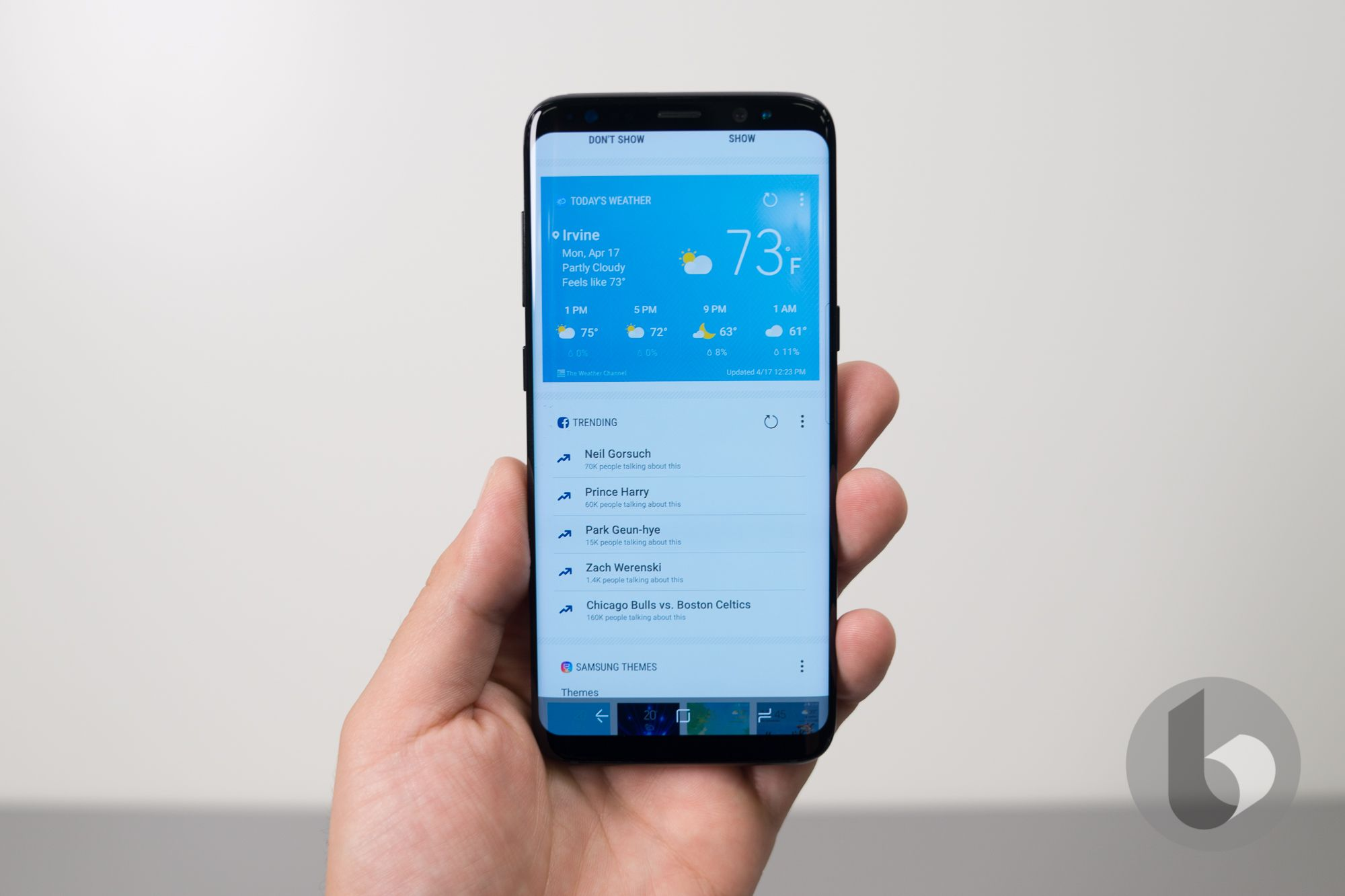 New app lets you remap Galaxy S8's Bixby button to Google