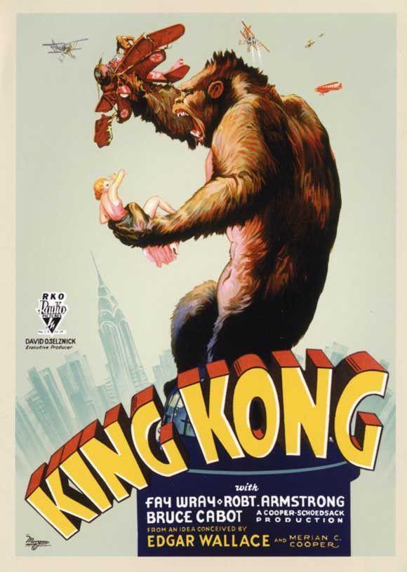 1933 King Kong 11x17 Movie Poster