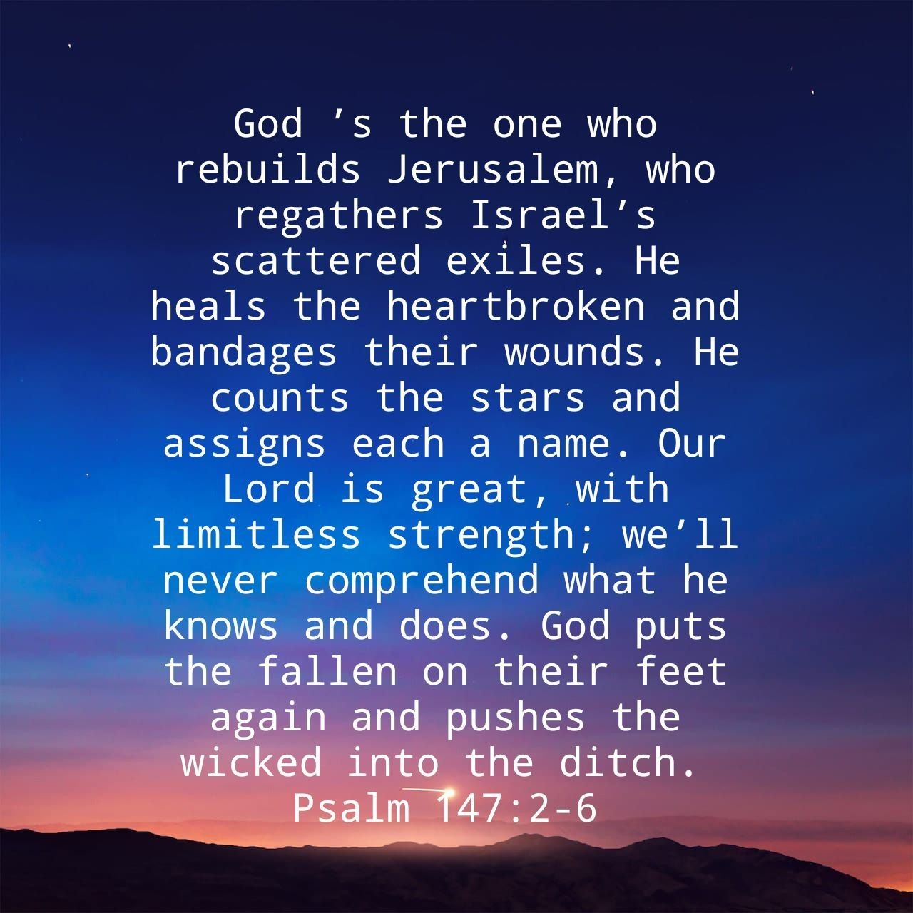 What The Bible Says About Healing A Broken Heart