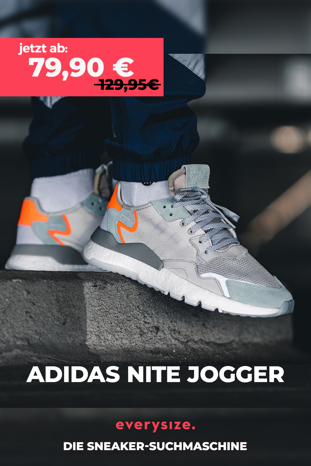 adidas Originals Nite Jogger in grau BD7956 in 2020