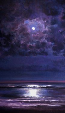 """Saatchi Online Artist Keith P Burnett; Painting, """"Time and Tide"""" #art"""