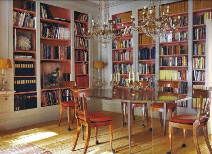 dining room library | Dining Room Libraries | Atticmag | Kitchens, Bathrooms, Interior ...