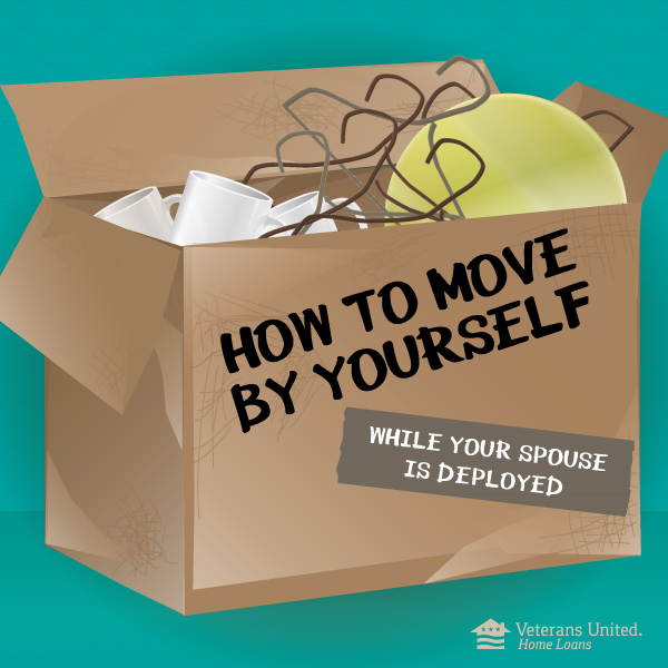 Pack It Up: How To Move By Yourself While Your Spouse Is