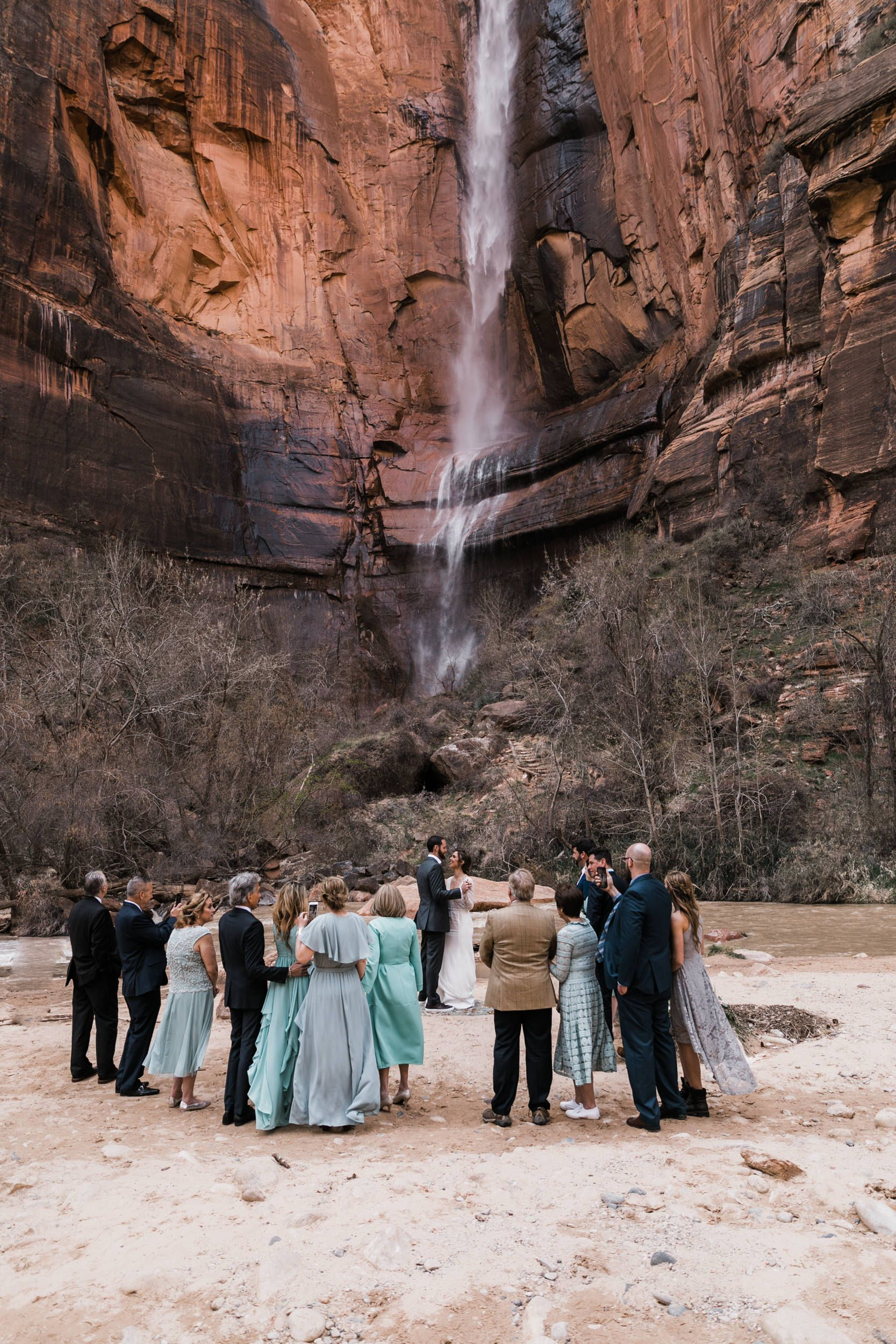 Zion National Park Wedding Utah Adventure Elopement Inspiration Adventure Wedding Elopement Photographers In Moab Yosemite And Beyond The Hearnes In 2020 National Park Wedding Park Weddings Zion National Park Photography