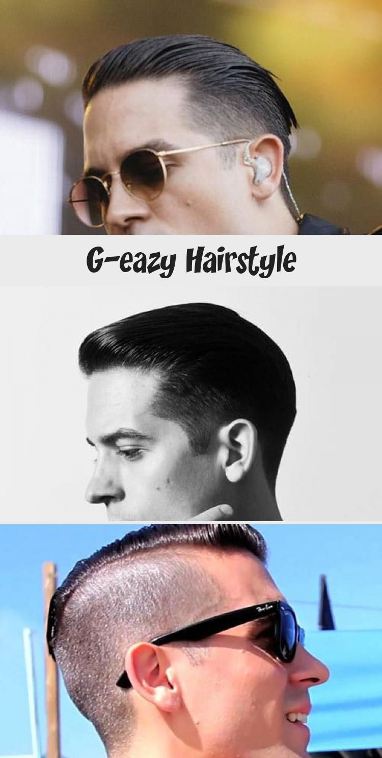 Cool geazy mens hairstyles slicked back hair taper