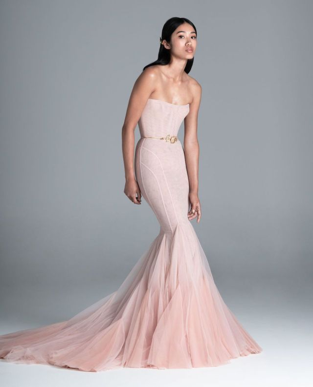 Spring 2020 Wedding Dresses by Paolo Sebastian – Perfete – Colored Wedding Gowns