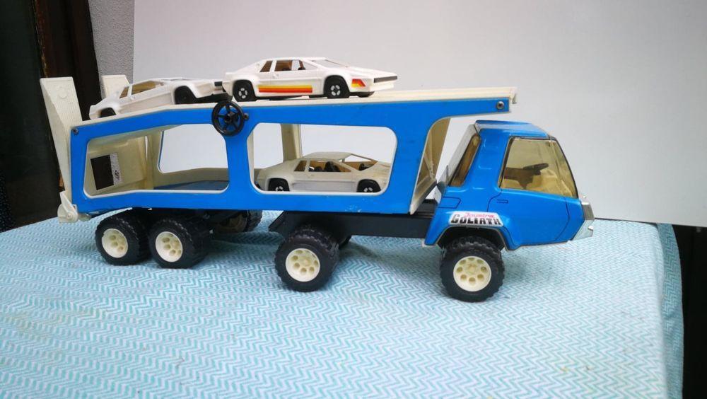 Cm Tôle Années Camion GoliathVintage RemorqueJoustra 6048 sdthCQr
