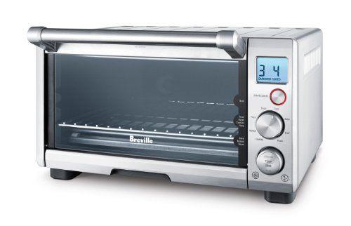 Breville Bov650xl Compact Smart Oven 1800 Watt Toaster Oven With Element Iq Breville Toaster Oven Smart Oven Breville Toaster