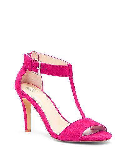 Mid-heel T-strap Sandal VS Collection