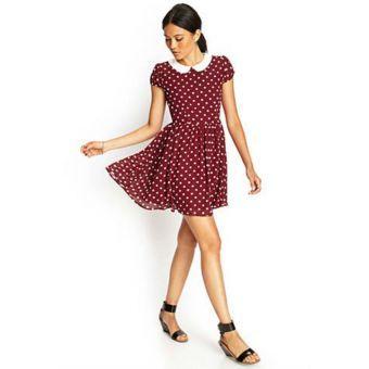 Compra Vestido Corto Bolas Forever 21 - Vino Tinto - con envío a todo Colombia   No hagas filas, paga al recibir sólo en Linio   ¡Entra ya!