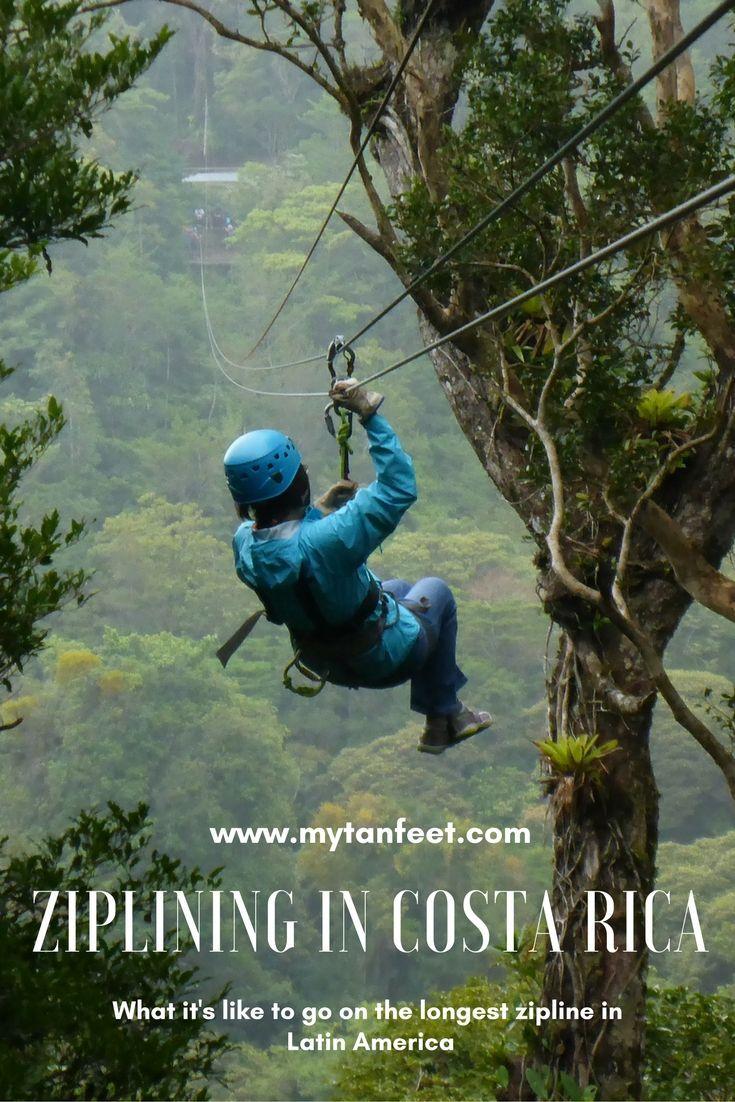 100% Aventura: Longest Zipline in Latin America & 45 Meter Tarzan Swing #latinamericatravel