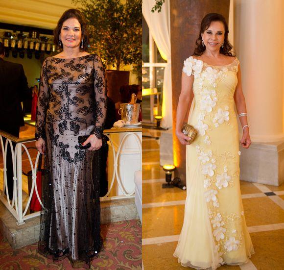 Rejane Paranhos, de Mabel Magalhães e a mãe do noivo, Mariza Ramos ...