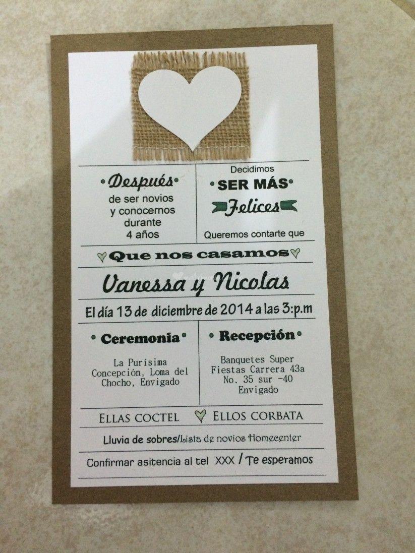 Textos Para Invitaciones De Matrimonio 15 Propuestas Variadas Texto Invitaciones De Boda Invitaciones Matrimonio Tarjeta De Casamiento