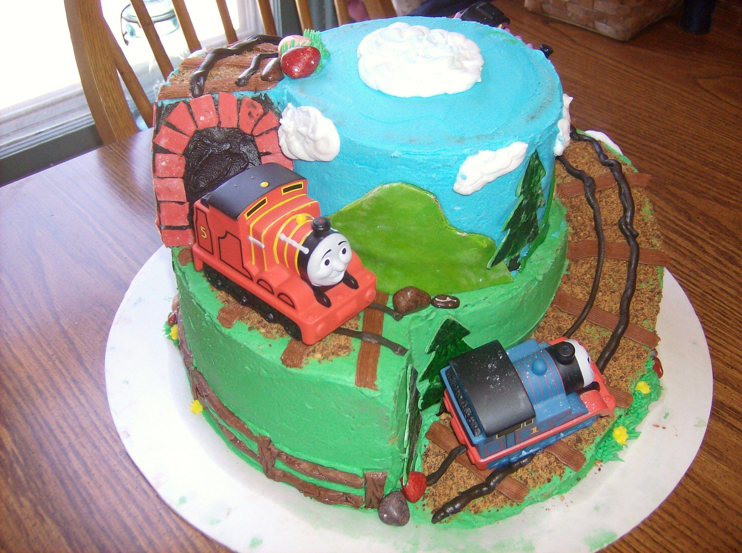 Thomas Cake My Cakes Pinterest Thomas Cakes Friends Cake And Cake