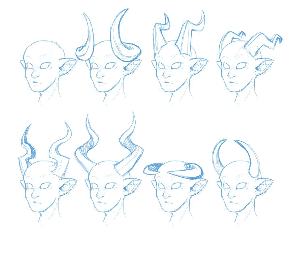 Tiefling Hashtag On Twitter With Images Demon Drawings Art