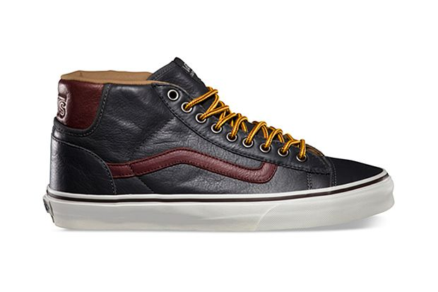 Image of Vans California 2013 Fall Mid Skool 77 CA Pebble Leather Pack