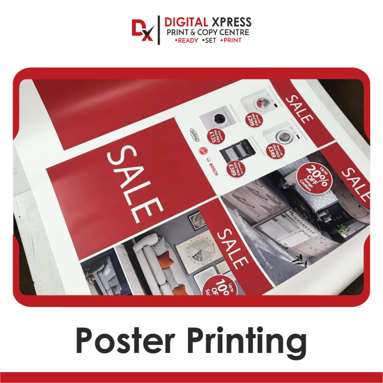 Promote Your Business With These High Quality Best Online Custom Posters A3 Size Poster Horizon Printing And Binding Printing Services Printing Business Cards
