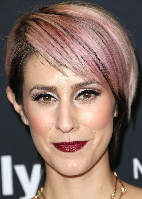 Short Funky Hairstyles - Pink Punk