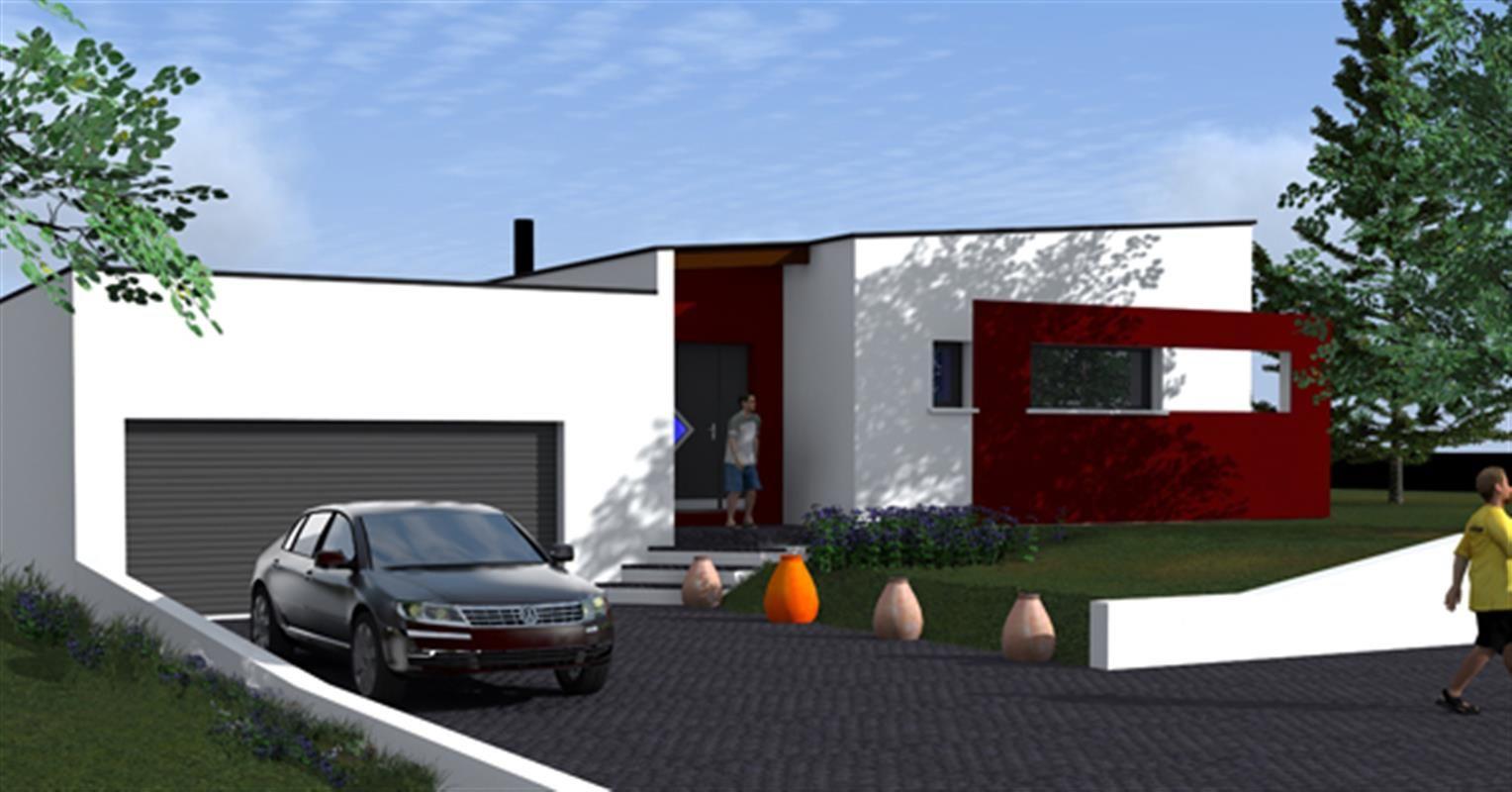 plain pied contemporain type f5 catalogue constructeur. Black Bedroom Furniture Sets. Home Design Ideas